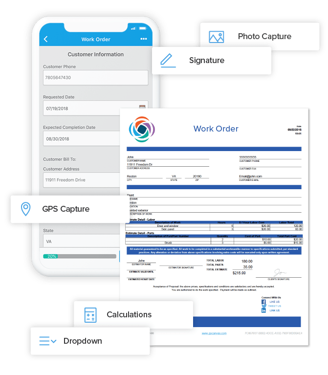 GoCanvas: Mobile Business Apps and Forms on Android, iPad